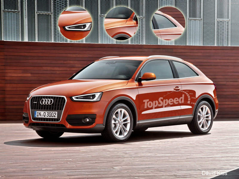 2017 Audi Q2 Exterior Exclusive Renderings Computer Renderings and Photoshop - image 453352
