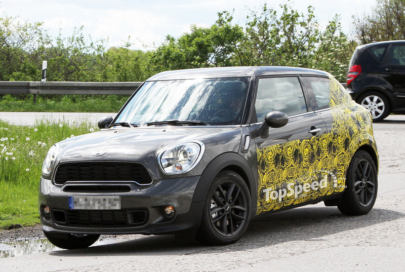 Spy Shots: 2014 Mini Countryman Coupe caught testing for the first time