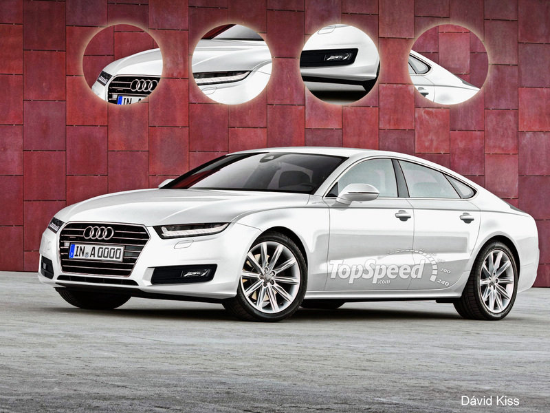 Audi Will Preview its New Design Language and the A9 Sedan in LA Exclusive Renderings - image 455893