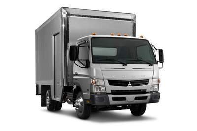 A new test proves that the Mitsubishi Fuso is more efficient than the Isuzu NPR-HD