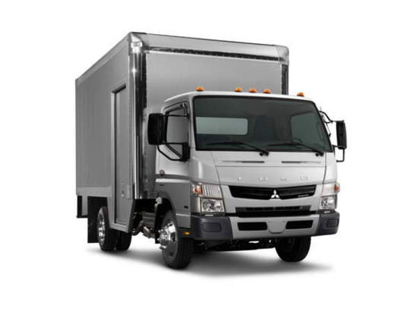 a new test proves that the mitsubishi fuso is more efficient than the isuzu npr-hd - DOC455259