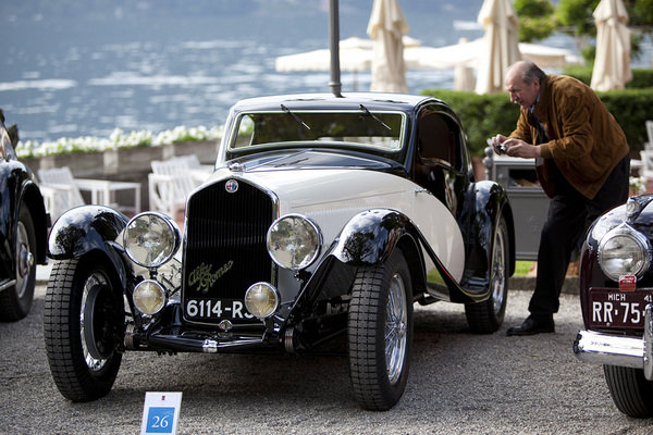 alfa romeo cleans up at concorso d eleganza picture