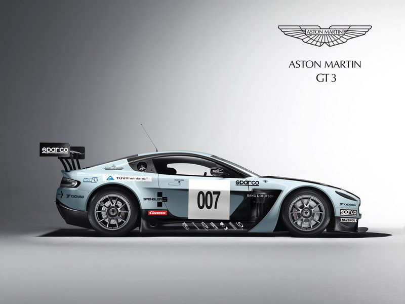 2012 Aston Martin V12 Vantage GT3 High Resolution Exterior - image 454565