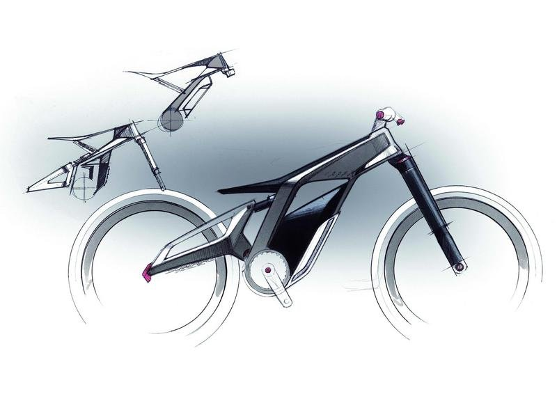 2012 Audi e-bike Woerthersee Concept