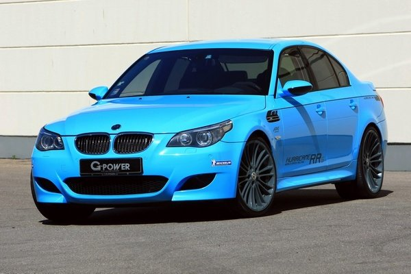 bmw m5 hurricane rrs by g-power picture