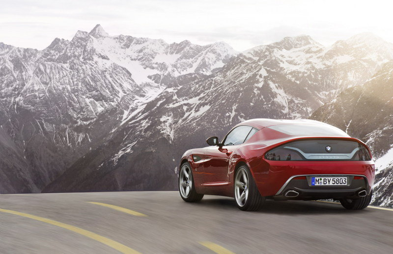 2012 BMW Zagato Coupe High Resolution Exterior Wallpaper quality - image 457468