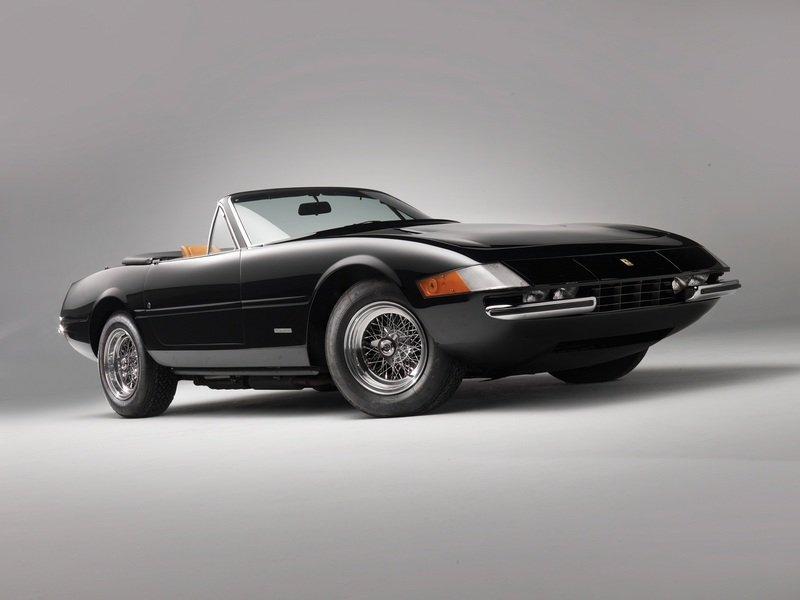 1971 Ferrari 365 GTS/4 Daytona Spyder High Resolution Exterior Wallpaper quality - image 453059