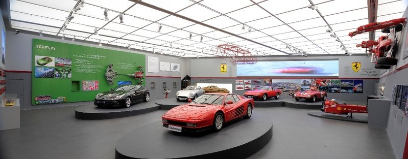 Ferrari Myth exhibition opens at Shanghai Expo Park