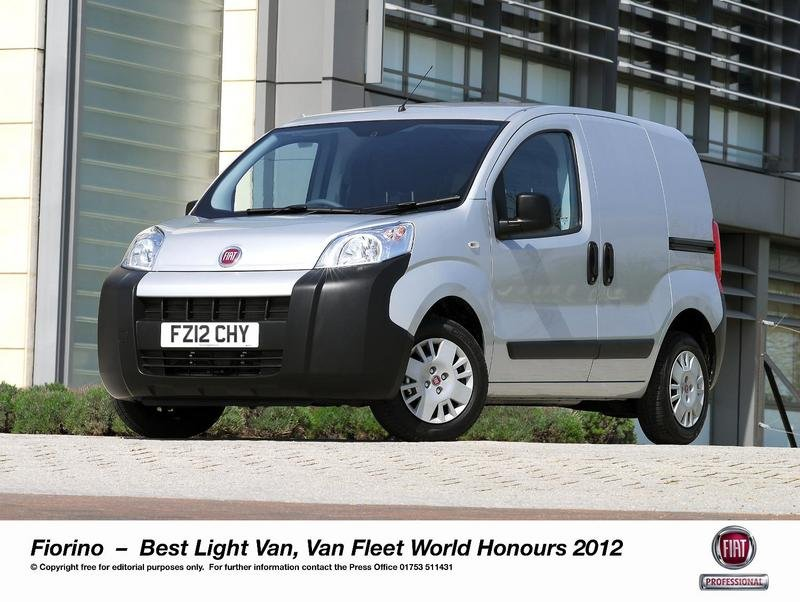 Fiat Fiorino wins Best Light Van Award
