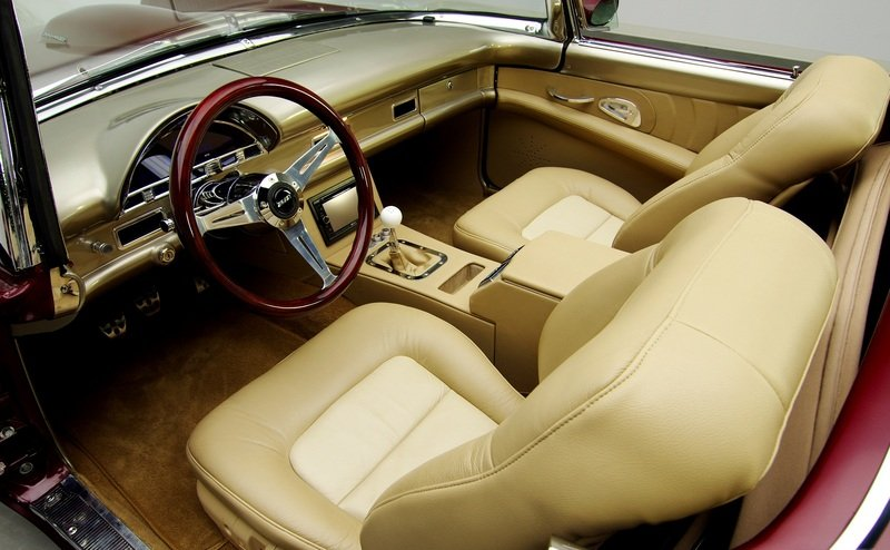 1955 Ford Thunderbird Pro Touring Interior - image 456231