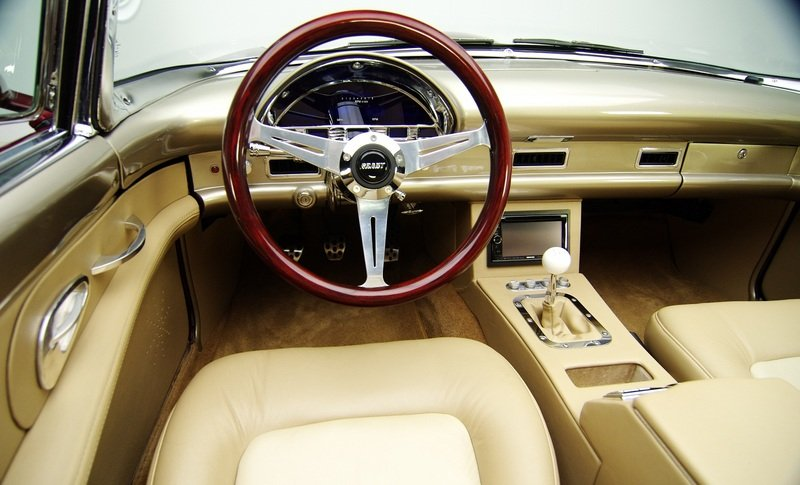 1955 Ford Thunderbird Pro Touring Interior - image 456233