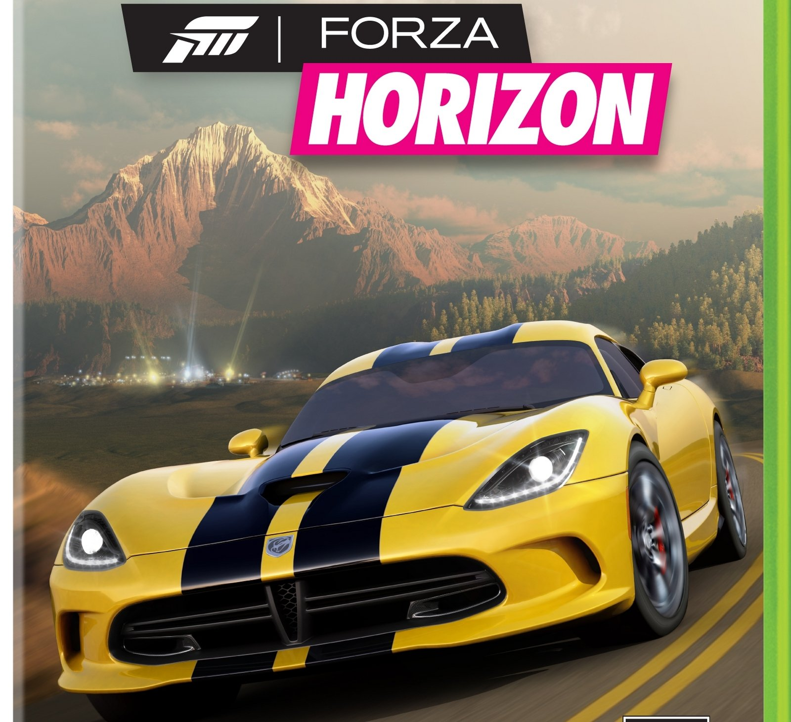 Forza Horizon Box Cover And First Screenshot Revealed