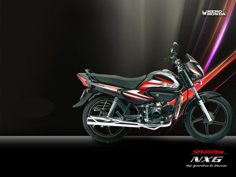 2012 Hero Honda Splendor NXG High Resolution Exterior - image 452465