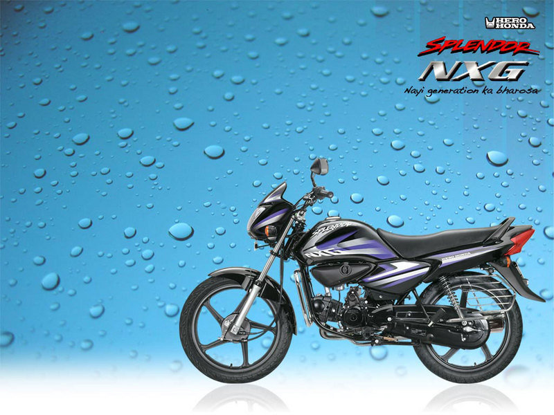 2012 Hero Honda Splendor NXG High Resolution Exterior - image 452466