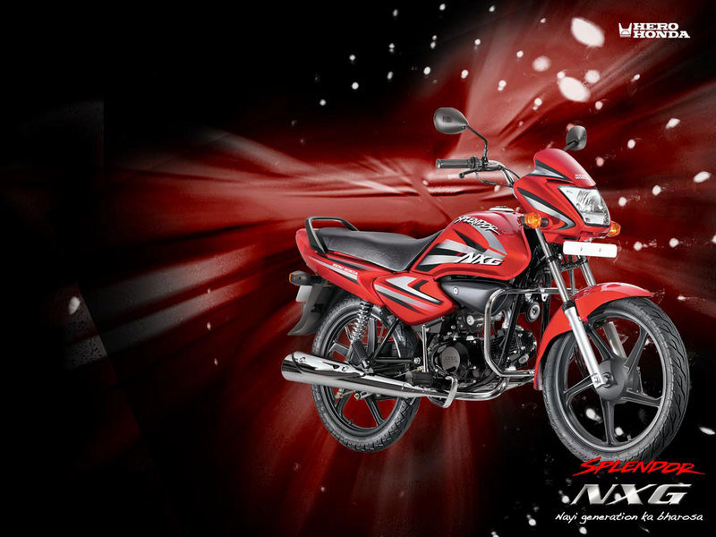 2012 Hero Honda Splendor NXG High Resolution Exterior - image 452463