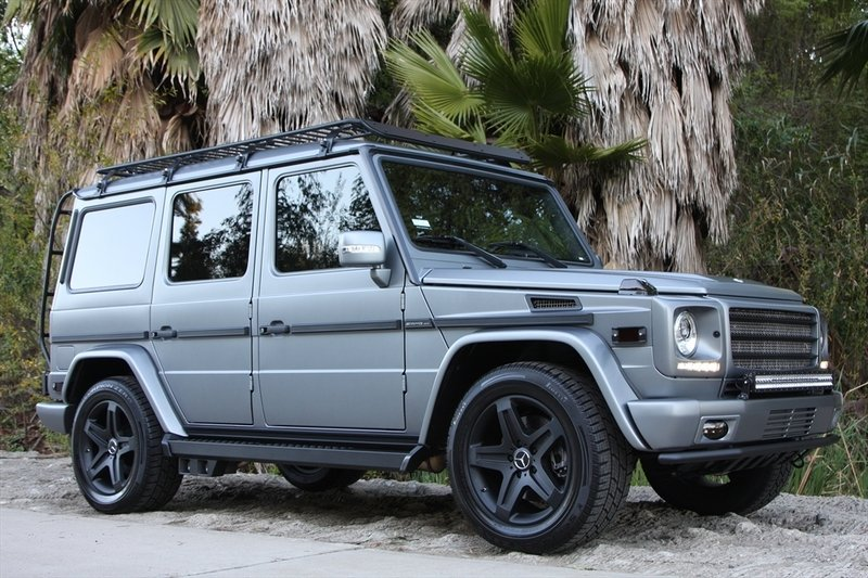 2011 Mercedes G55 AMG by Icon4x4 Design