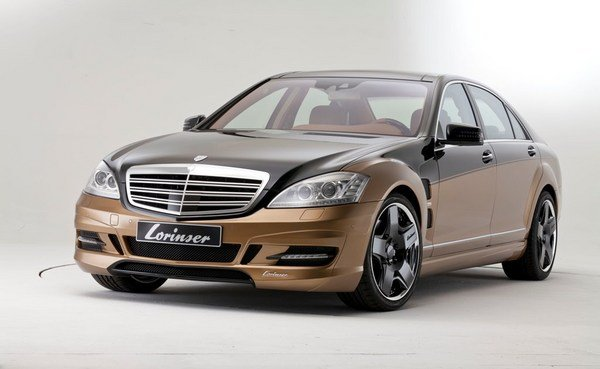 Mercedes S-Class S70 by Lorinser