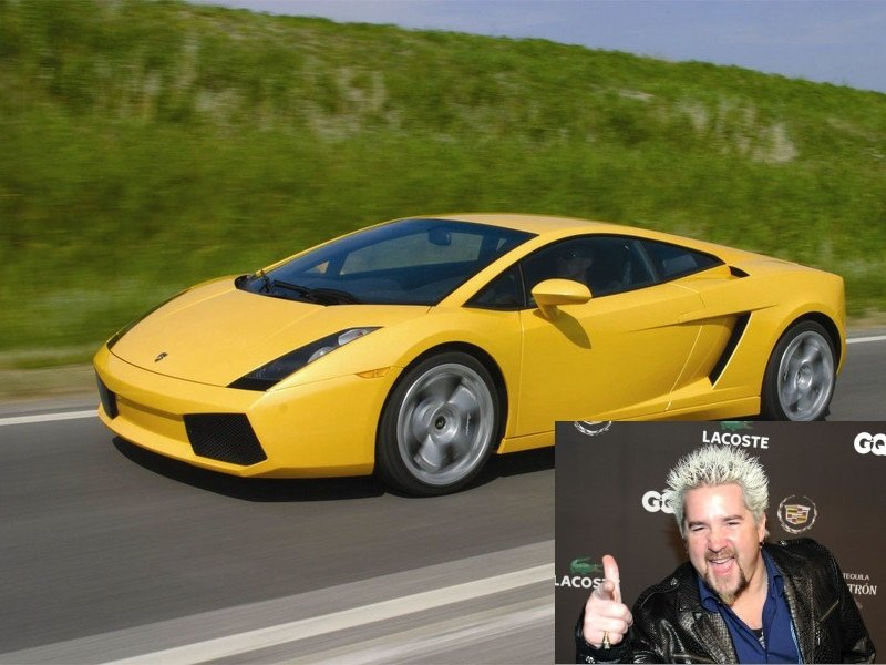 Police retrieve chef Guy Fieri's Lamborghini Gallardo one year after theft