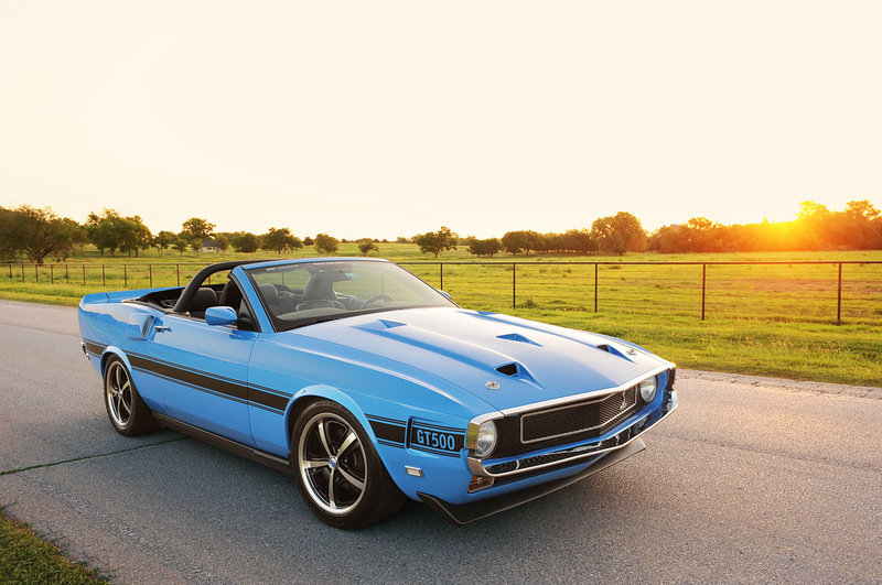1969 Ford Mustang Shelby GT500CS Clone by Retrobuilt