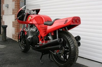 World's Only Ferrari Motorcycle Sells at Auction for £85K