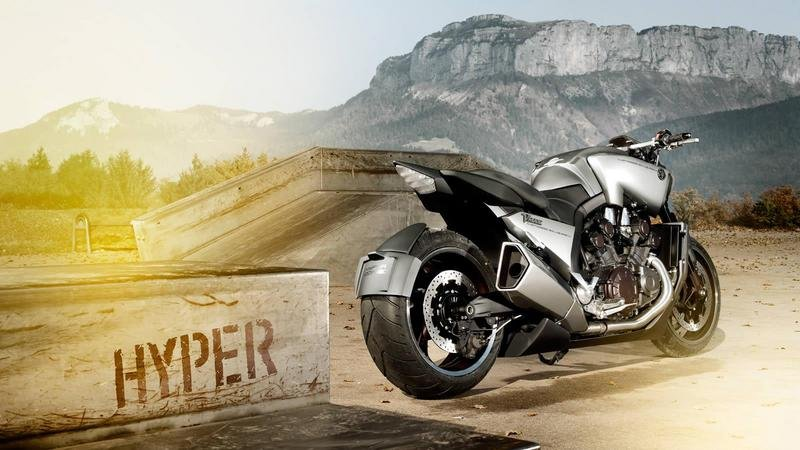 2011 Yamaha V-MAX Hyper Modified by Ludovic Lazareth High Resolution Exterior - image 459982
