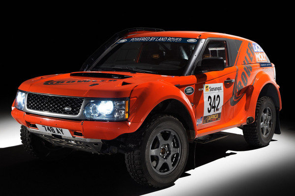 Bowler EXR Rally Car by Land Rover