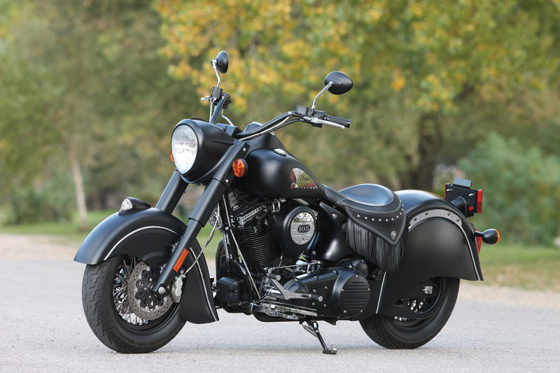 2012 Indian Chief Dark Horse High Resolution Exterior - image 458265