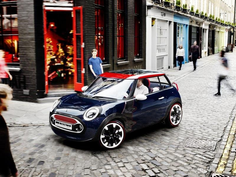2012 MINI Rocketman Olympic Concept High Resolution Exterior Wallpaper quality - image 460598