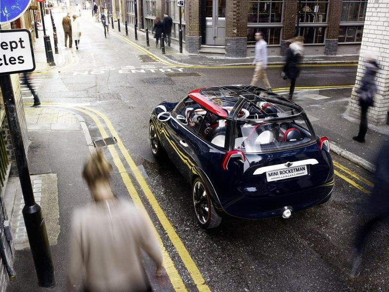2012 MINI Rocketman Olympic Concept
