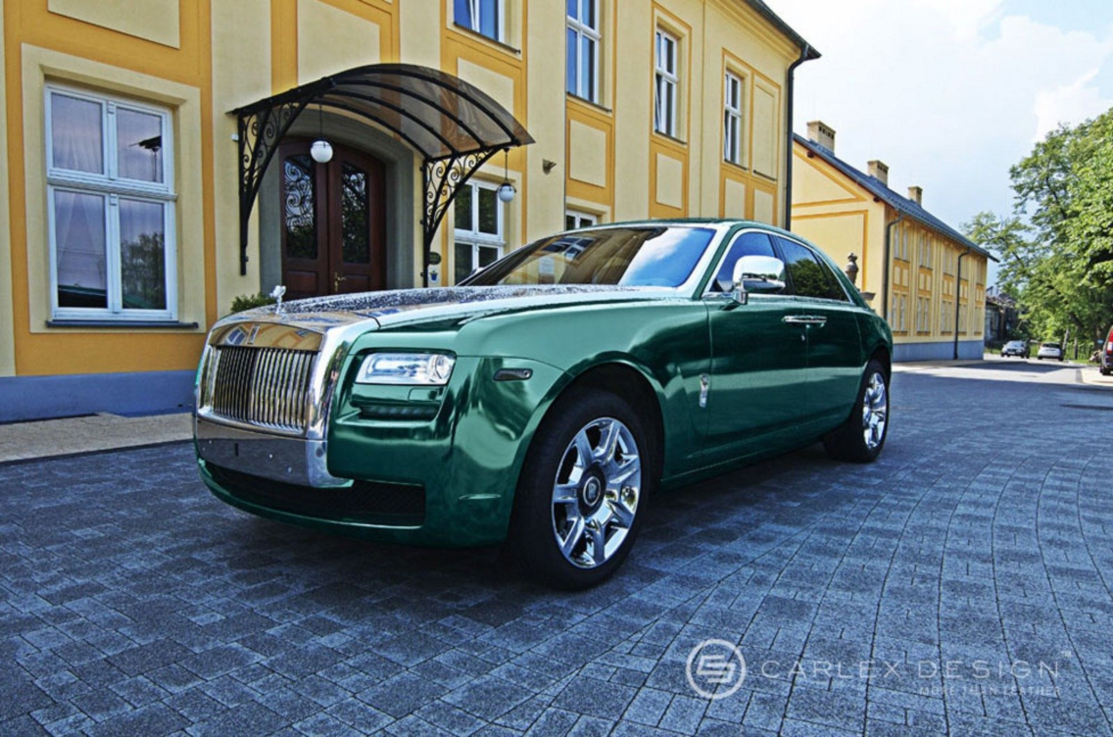 2012 Rolls Royce Ghost By Carlex Design Review Top Speed