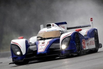 Toyota TS030 Hybrid Has a Successful Debut at Cirque De La Sarthe