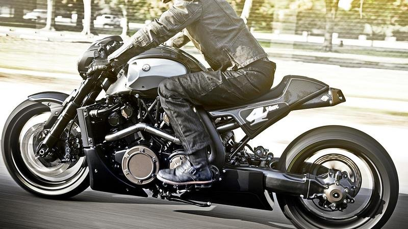 2012 Yamaha V-MAX Hyper Modified by Roland Sands