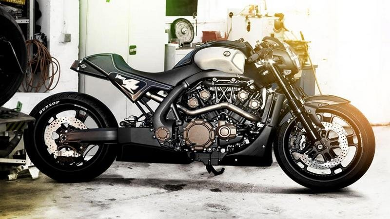 2012 Yamaha V-MAX Hyper Modified by Roland Sands High Resolution Exterior - image 459995