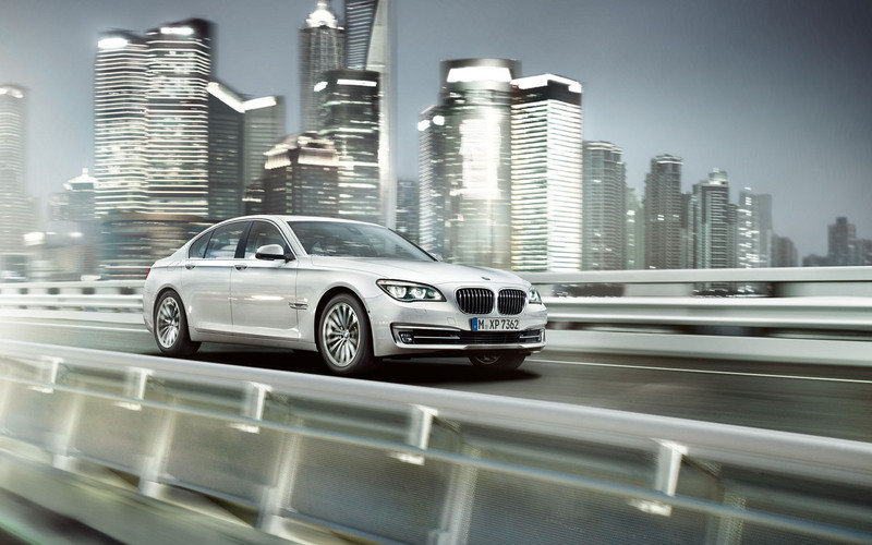 2013 BMW 7-Series High Resolution Exterior Wallpaper quality - image 458208