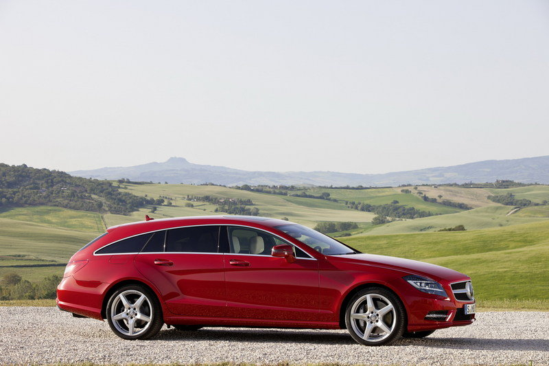 2013 - 2014 Mercedes-Benz CLS Shooting Brake High Resolution Exterior - image 463086