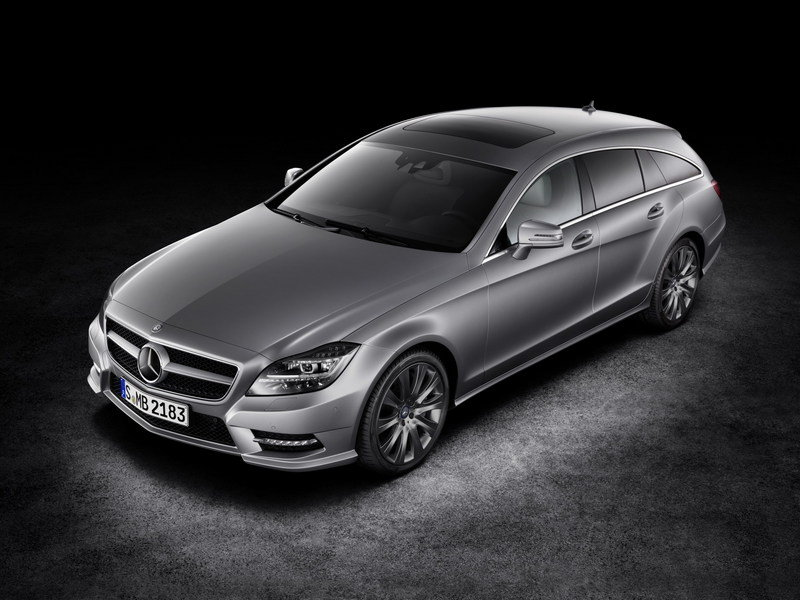 2013 - 2014 Mercedes-Benz CLS Shooting Brake High Resolution Exterior - image 463110