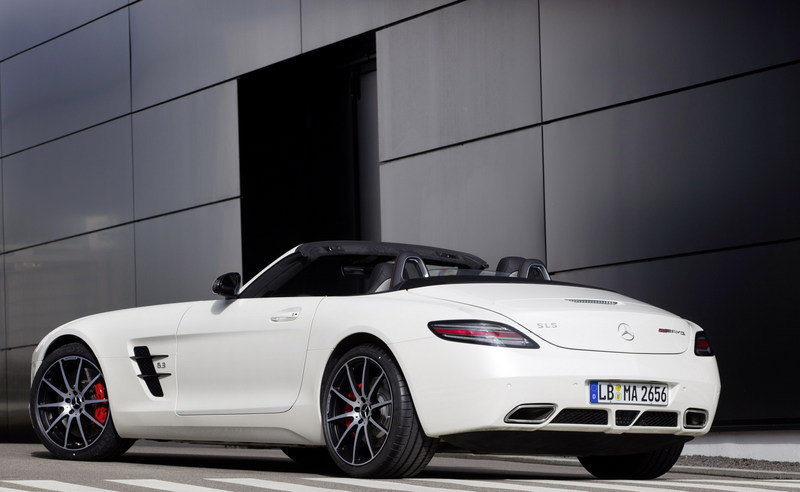 2013 Mercedes-Benz SLS AMG GT High Resolution Exterior - image 461539