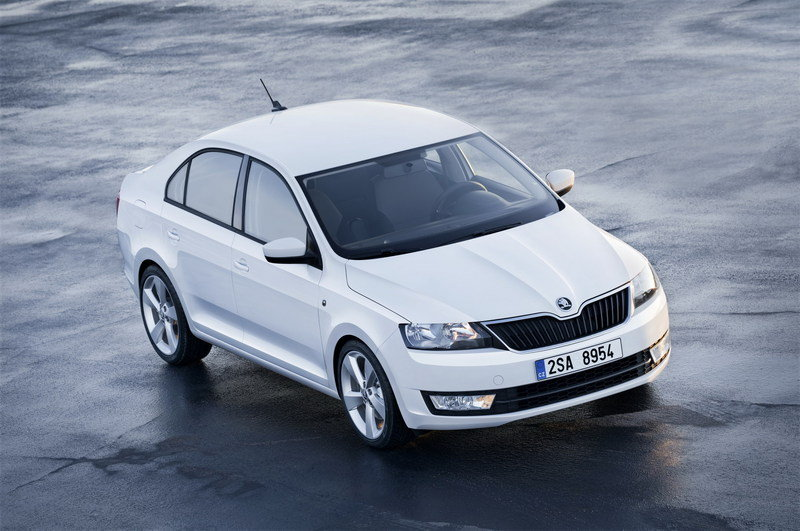 2013 Skoda Rapid High Resolution Exterior Wallpaper quality - image 461318