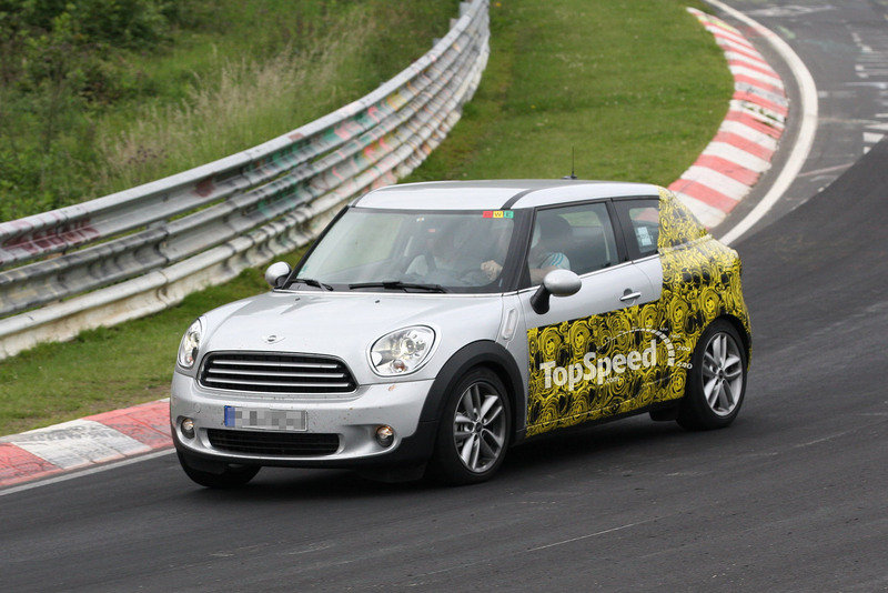 Spy Shots: Mini Countryman Coupe does its own testing at Nurburgring