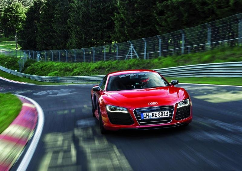 Audi R8 e-tron becomes fastest electric vehicle around the Nurburgring