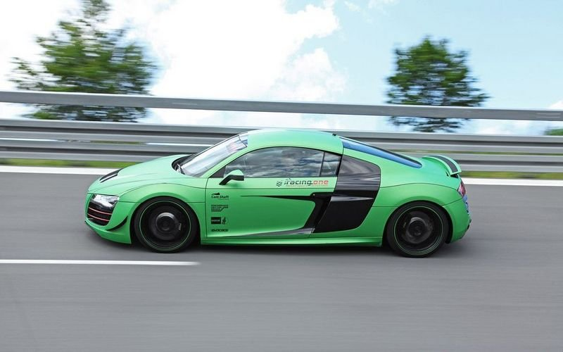 2012 Audi R8 V10 By Racing One Wallpaper Image