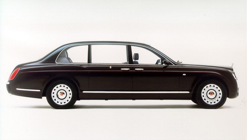 2002 Bentley State Limousine High Resolution Exterior - image 459673