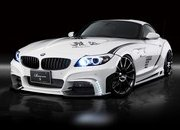 BMW Z4 White Wold by Rowen Japan