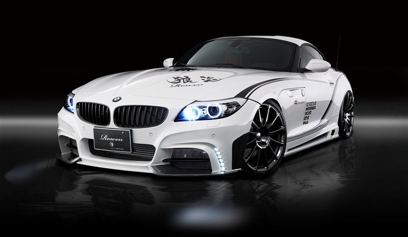 2012 BMW Z4 White Wold by Rowen Japan