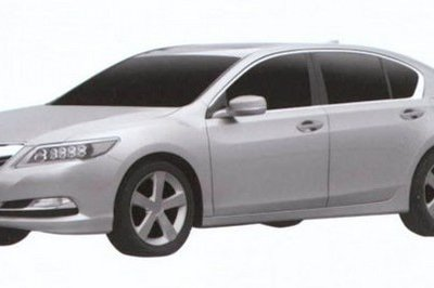 Does This Patent Filing Leakage Show the Production 2014 Acura RLX?