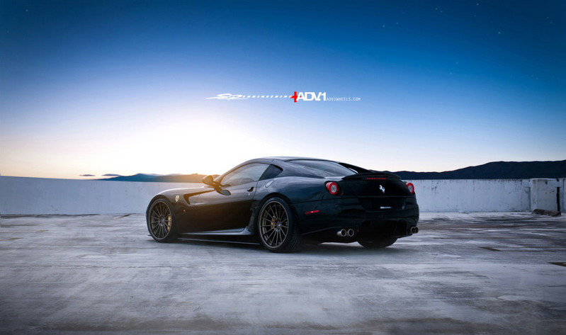 2012 Ferrari 599 GTX by SP Engineering and ADV.1 Wheels