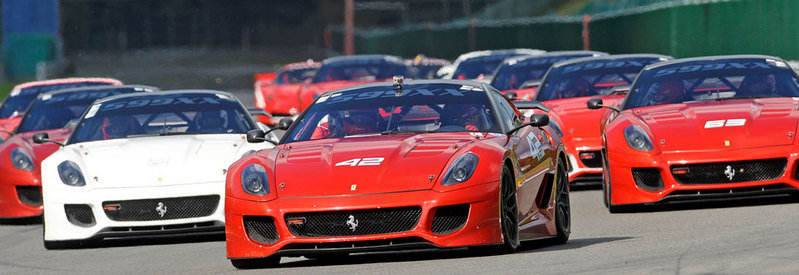 Ferrari North Europe Setting out to Reclaim its Parade of Ferraris Record