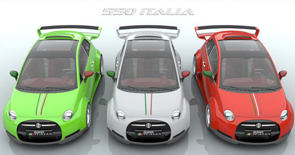 fiat 550 italia by lazzarini design picture