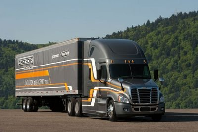 First real world efficiency tests for the new Freightliner Cascadia Evolution sound promising