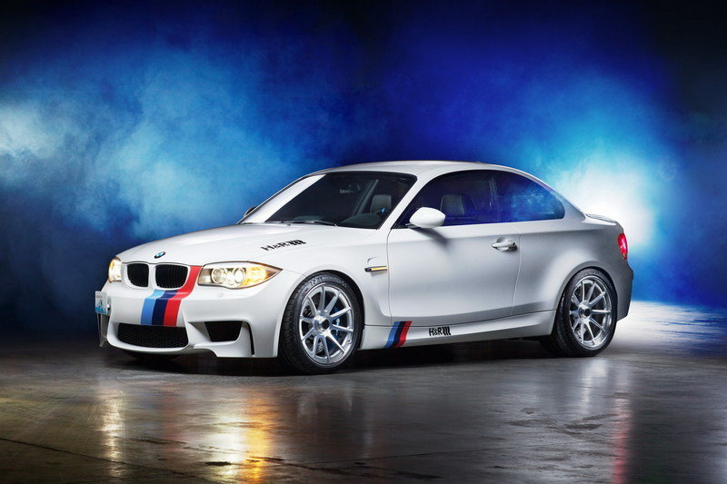 Free BMW 1M poster from H&R